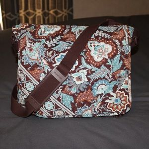Vera Bradley Messenger/ Diaper Bag